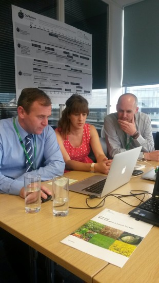 George Eustice tries out CAPIS