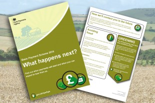 Basic Payment Scheme leaflet