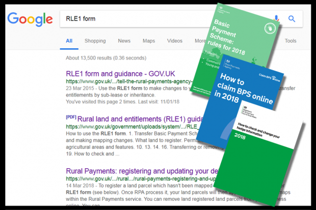 Read the guidance - search plus booklets