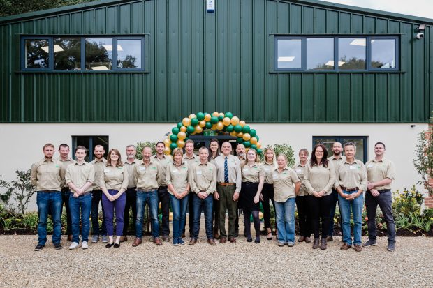 Group shot of people working at Tony Benger Landscaping